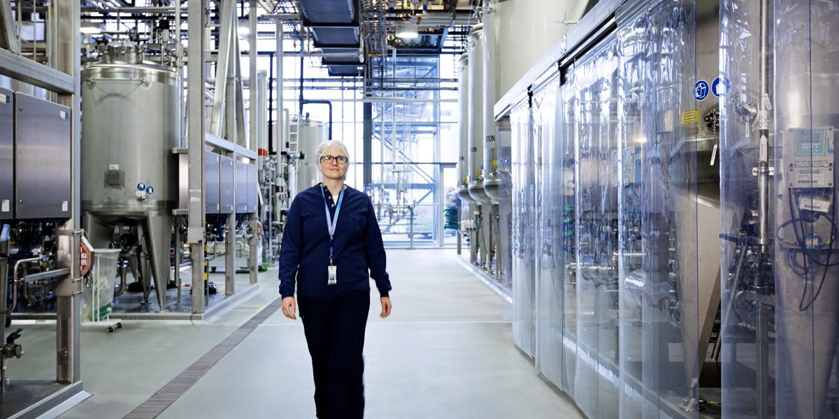 Novo Nordisk factory in Denmark