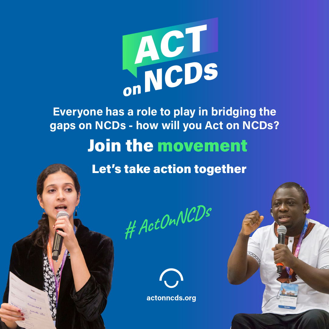 2020 Global Week for Action on NCDs logo
