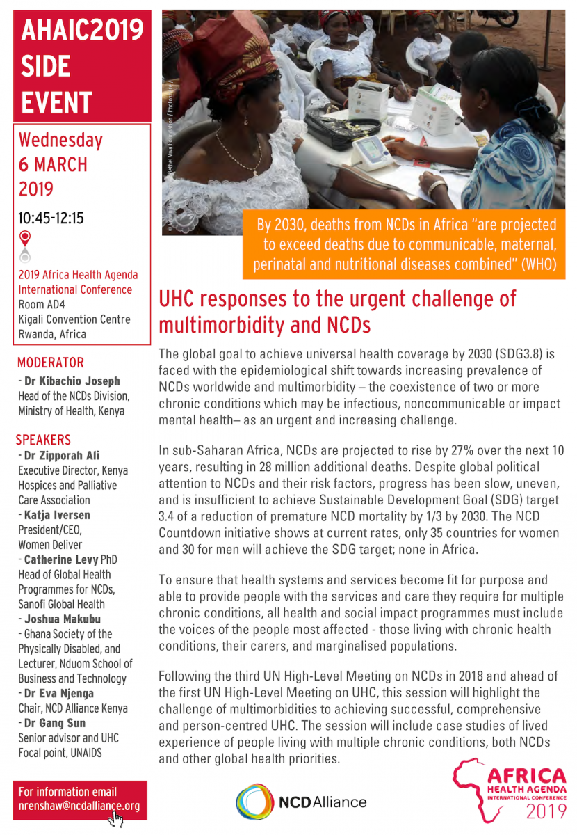 How can UHC respond to NCDs and multimorbidities? | NCD Alliance