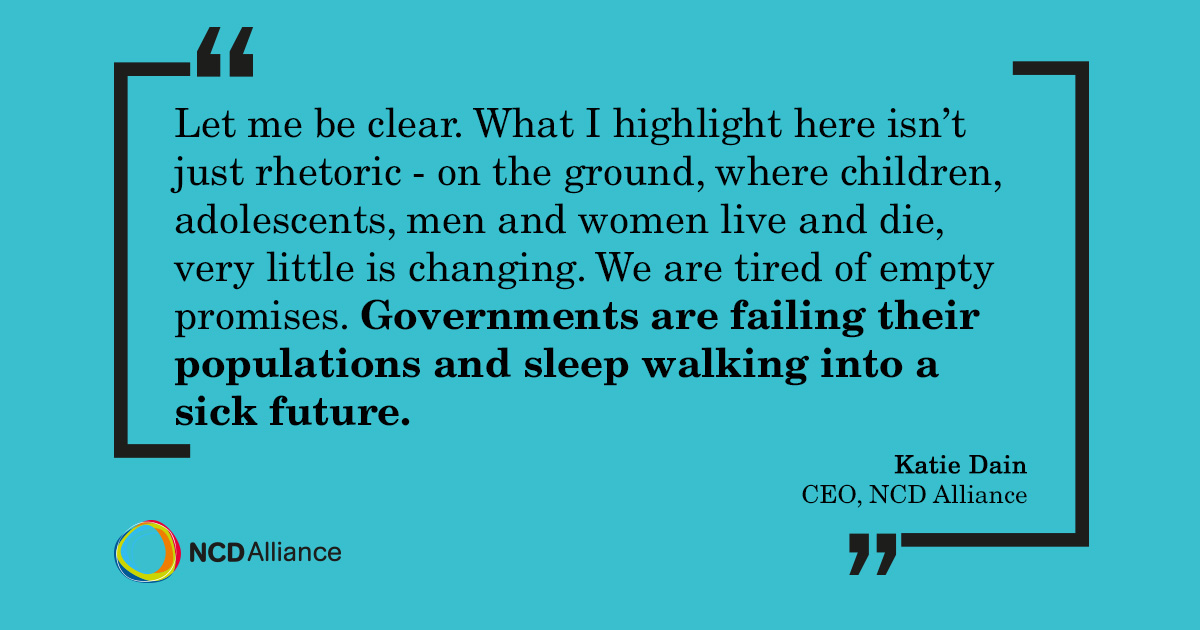 Governments are sleepwalking into a sick future