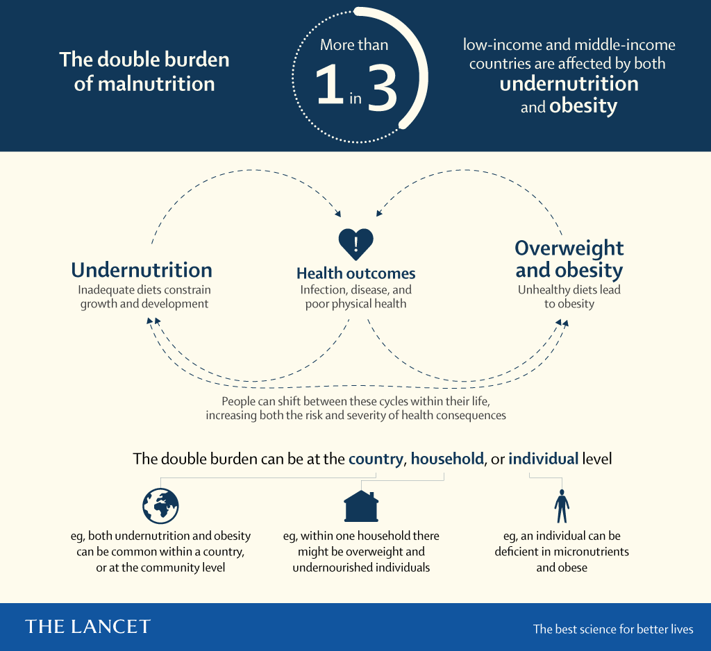 Manifesto on the Double Burden of Malnutrition | The Lancet - overview