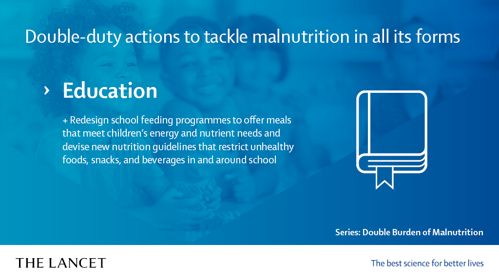 Manifesto on the Double Burden of Malnutrition | The Lancet - Education