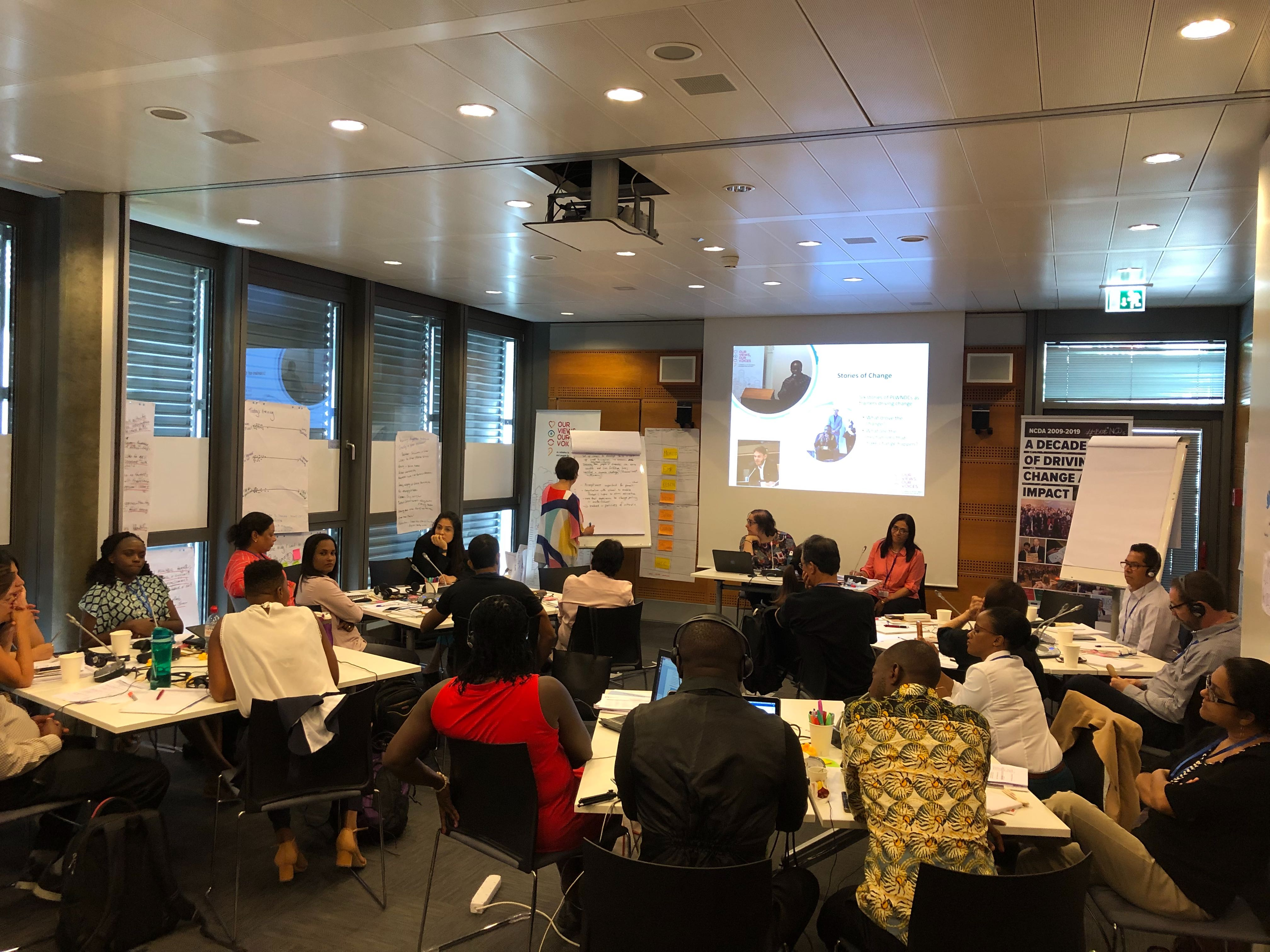 Our Views, Our Voices 2019 Train The Trainer workshop