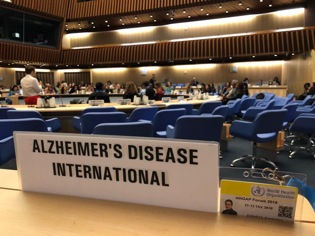 ADI are ensuring that dementia is represented in the Mental Health Global Action Programme, mhGAP, and the wider global health policy landscape.