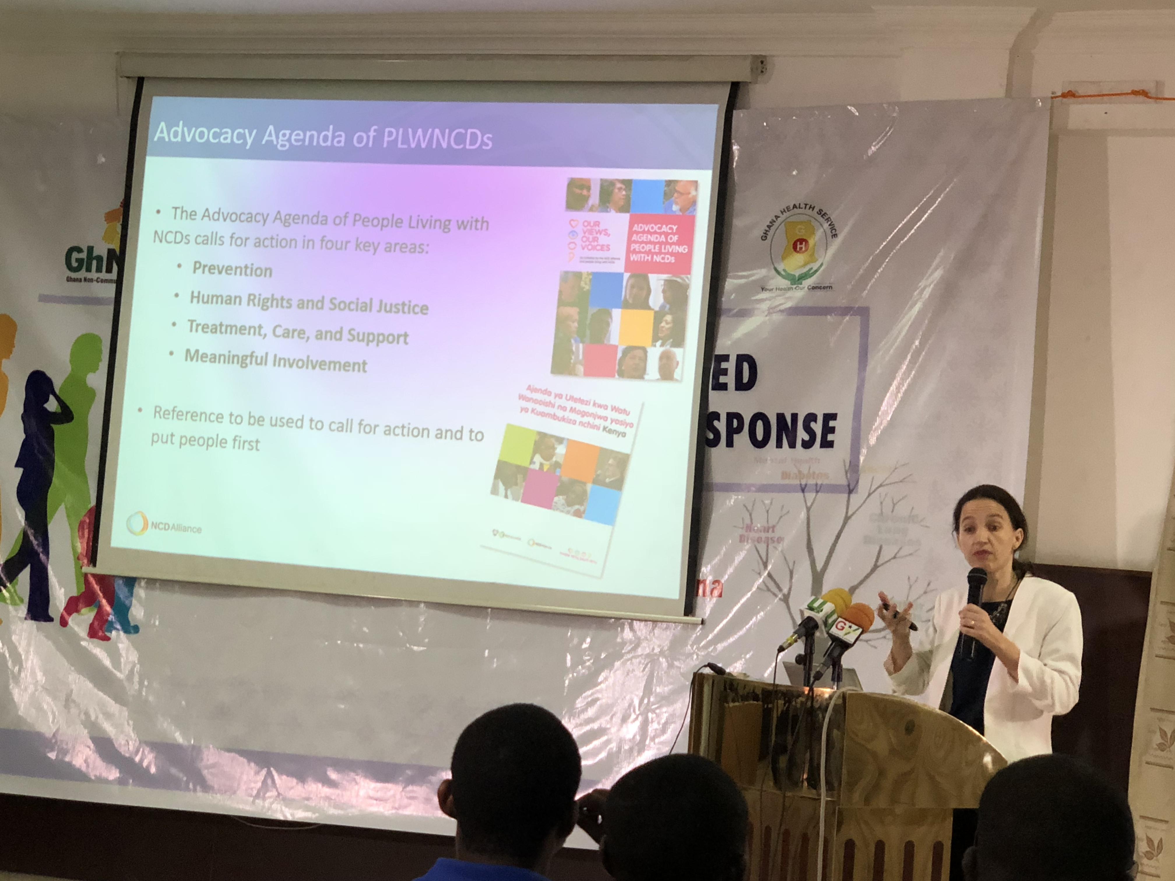 NCDA Director of Capacity Development, Cristina Parsons-Perez.