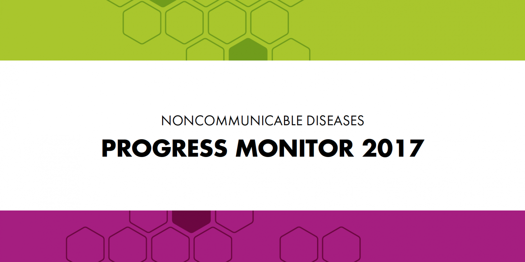 WHO launches new NCDs Progress Monitor