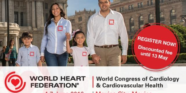 World Congress of Cardiology and Cardiovascular Health 2016