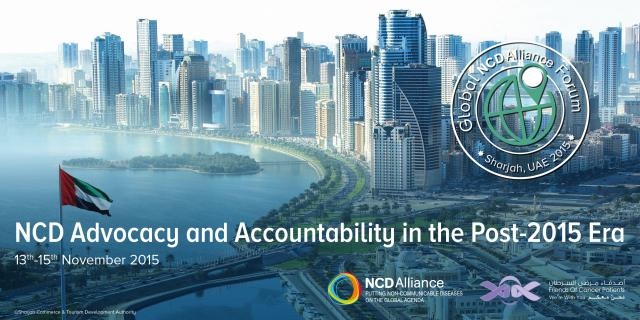 Global NCD Alliance Forum 2015