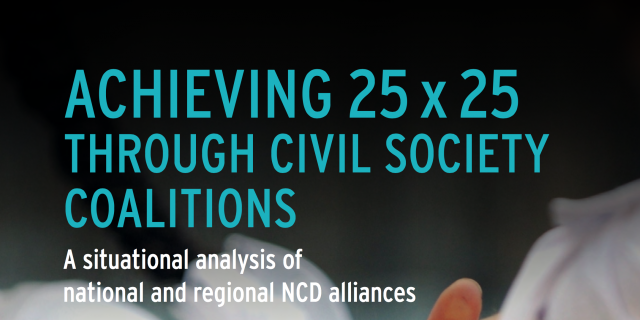 Achieving 25 x 25 through civil society coalitions