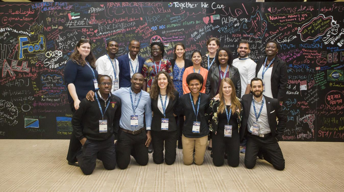 The value of youth in the fight against NCDs