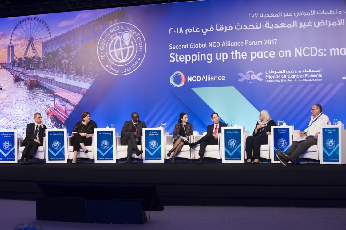 Third Global NCD Alliance Forum to be held in Sharjah (UAE) on 8th–10th February 2020