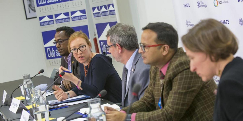 Noticias sobre ENT en la 72ª Asamblea Mundial de la Salud