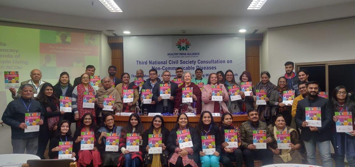 India: Lanzan Agenda de Incidencia en favor de las personas que vivimos con ENT