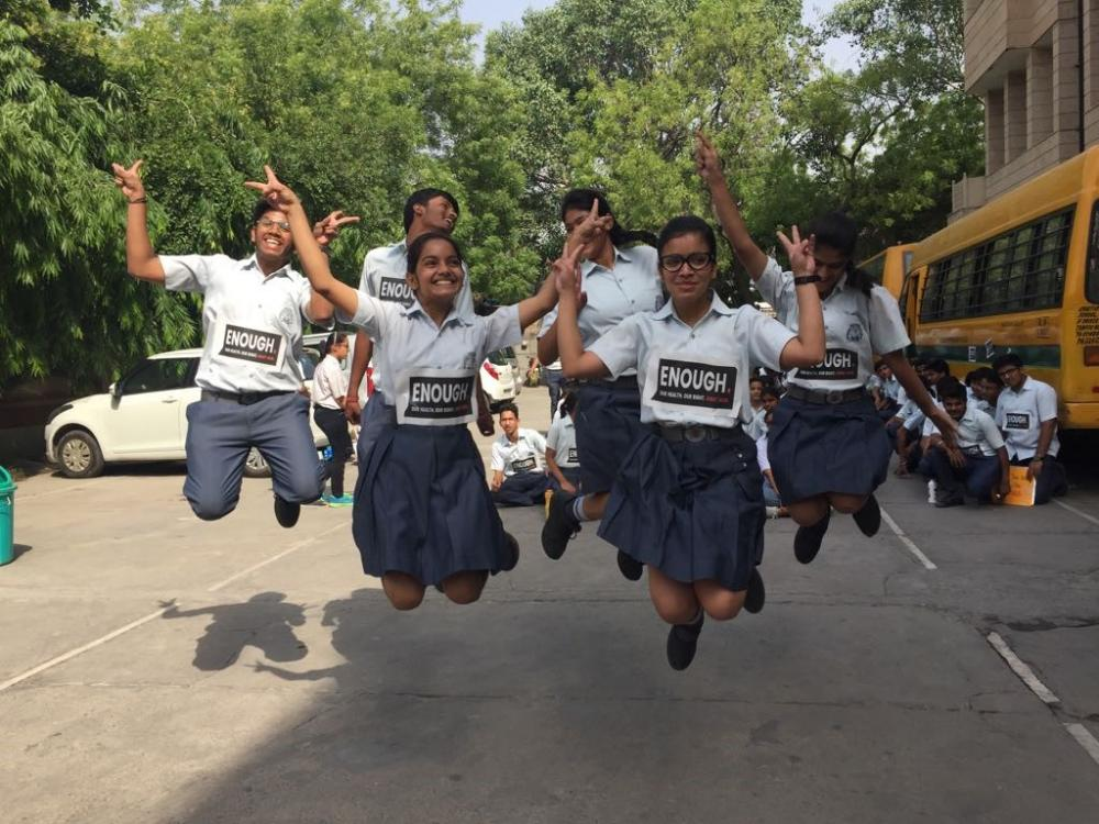 Youth walk the talk in India