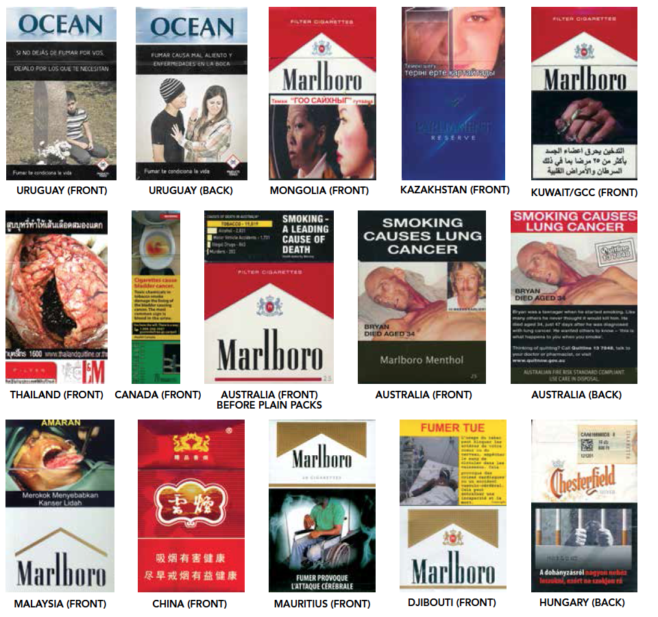 Cigarette Package Health Warnings Status Report, fourth edition launched