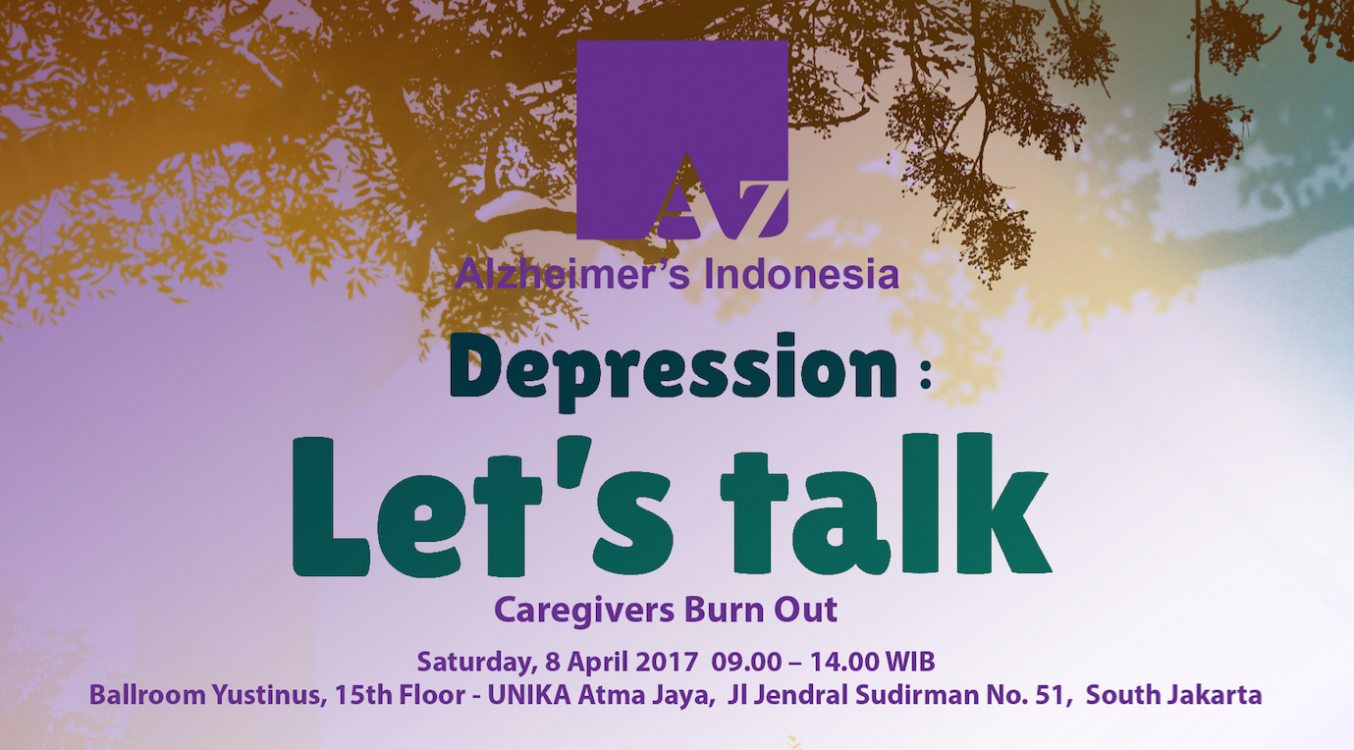 World Health Day 2017, Indonesia: Depression, Let's Talk