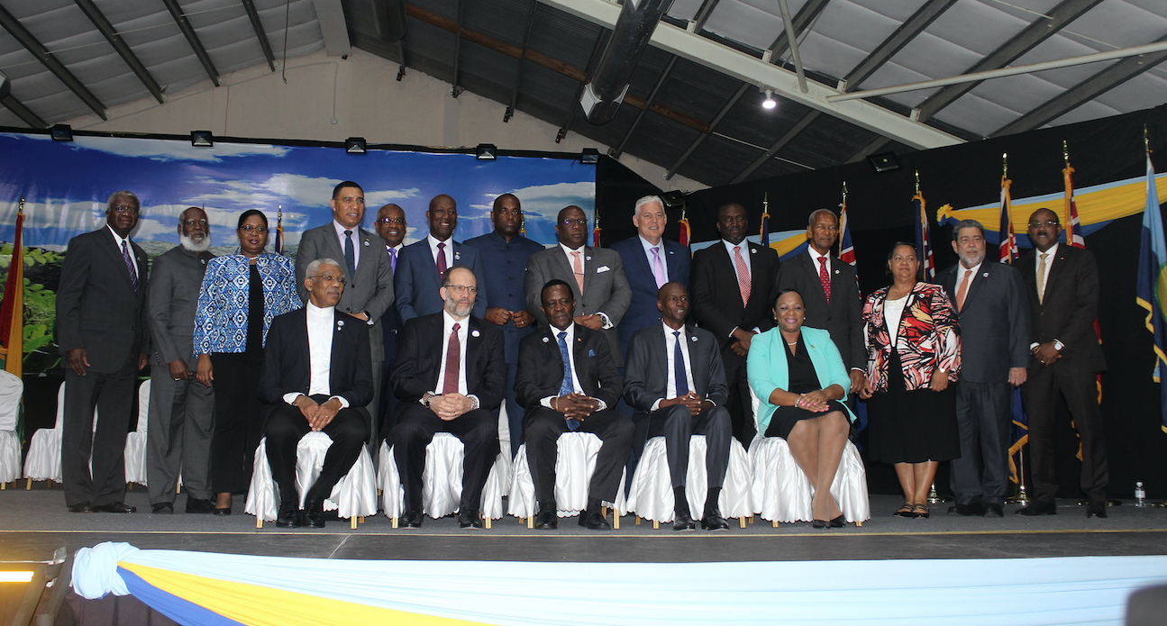 CARICOM leaders - breakthrough in the fight against NCDs