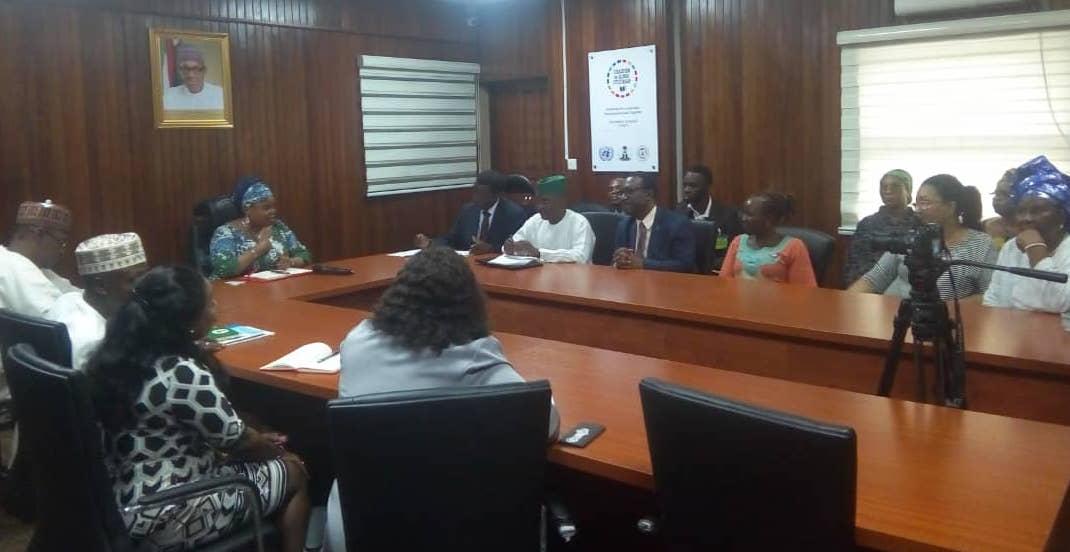 La Alianza de ENT Nigeria visita a los tomadores de decisión rumbo a la RAN de la ONU sobre ENT