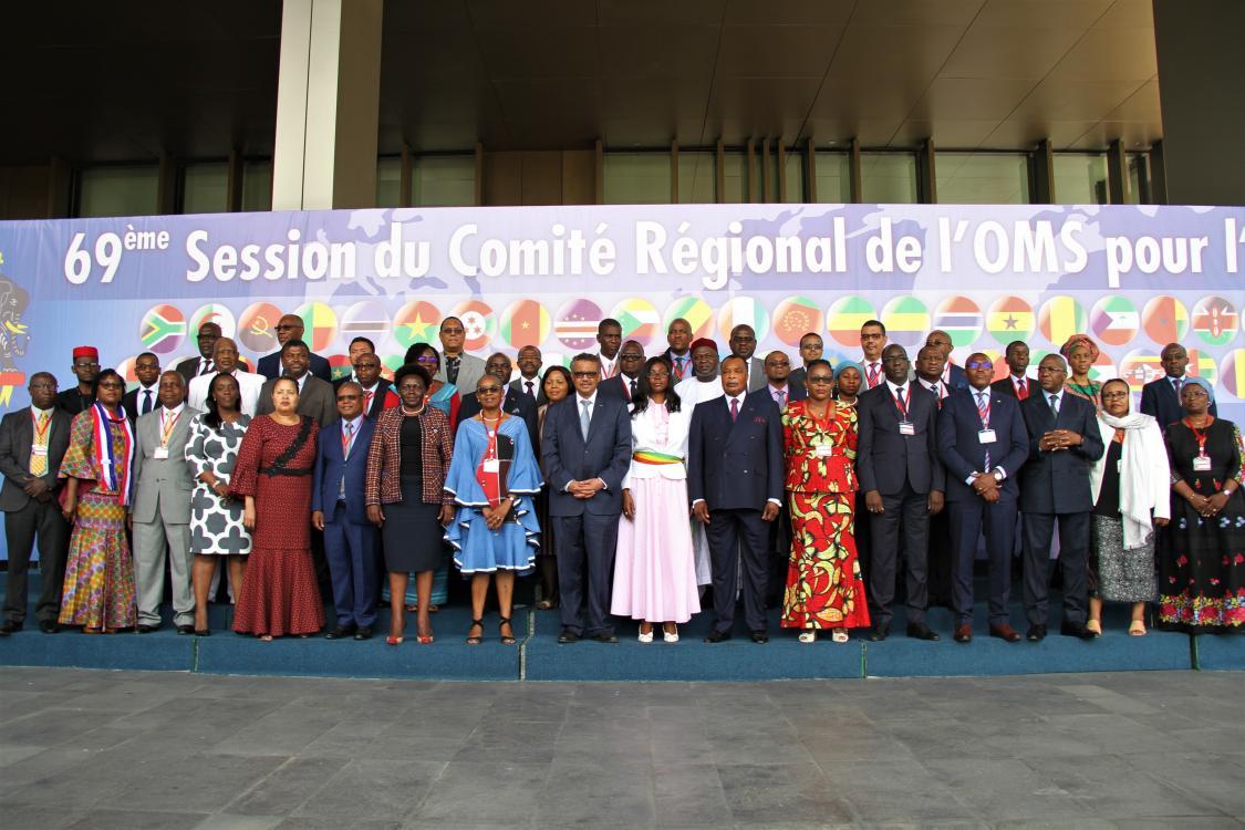 La Alianza de ENT Ghana representa la voz de ENT en la reunión del Comité Regional de la OMS AFRO