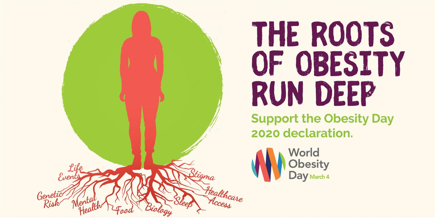 Spread the word on 4 March: The roots of obesity run deep