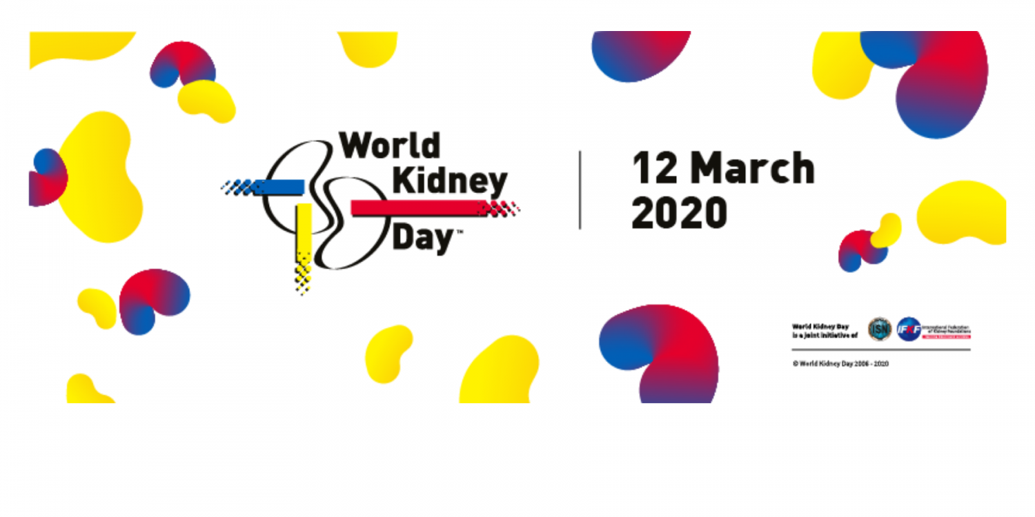World Kidney Day 2020 is in 2 days!