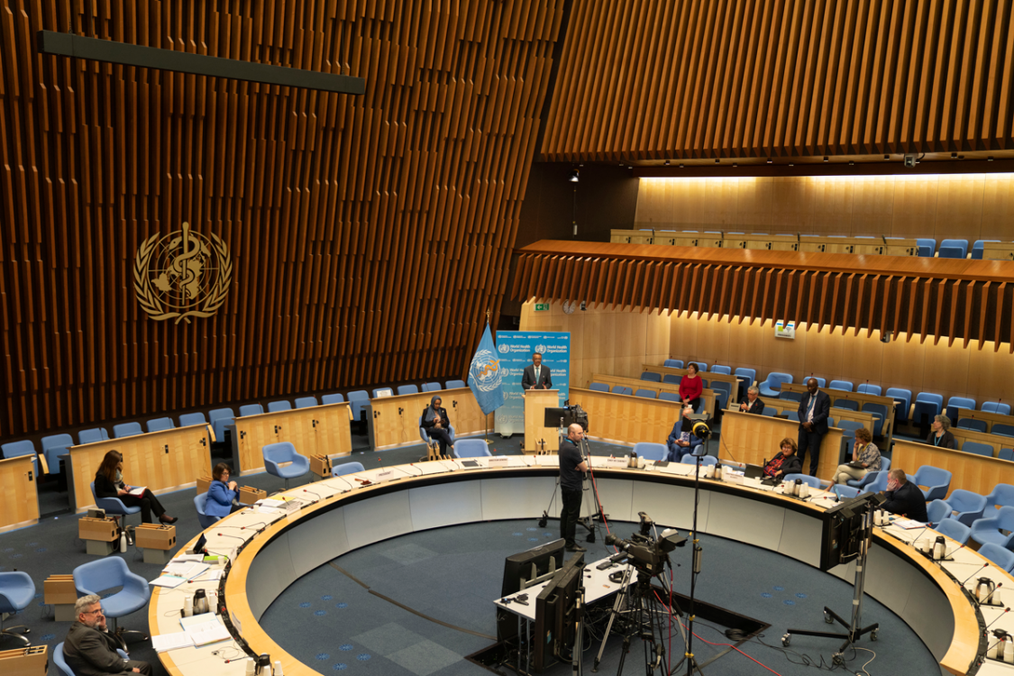 73rd World Health Assembly (WHA73) November 2020