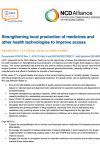 74th WHA Joint Statement on Agenda Item 13.4: Public health, innovation and intellectual property
