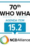 70th WHO WHA Agenda Item 15.2: Draft global action plan on the public health response to dementia