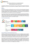 2018 UN HLPF: Advocacy Briefing: NCDs, Health and Environment