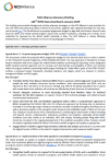NCD Alliance Advocacy Briefing for World Health Organization 144th Executive Board 2019 (EB144)