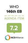 146th WHO EB Statement on Item 7.2 Evaluation of global strategy to reduce harmful use of alcohol