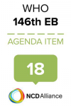 146th WHO EB Statement on Item 18 Comprehensive implementation plan on maternal, infant & young child nutrition: biennial report