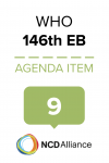 146th WHO EB Statement on Item 9 Accelerating the elimination of cervical cancer as a global public health problem