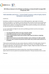Statement of the NCD Alliance to the UN HLM on UHC