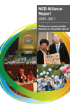 NCD Alliance Annual Report 2009 - 2011