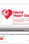 World Heart Day 2014: Heart Choices Not Hard Choices