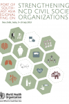 Report on SEARO meeting on strengthening NCD civil society organisations in SEARO