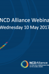 NCD Alliance Webinar, 10 May 2017