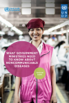 Sectoral Briefs: What Government Ministries Need to Know about Non-communicable Diseases