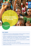 Sectoral Brief: Education