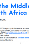 HPV in the Middle East and North Africa