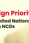 NCDA Campaign Priorities: 2018 UN High-Level Meeting on NCDs