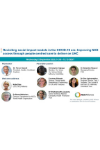 NCDA Virtual Event - Revisiting social impact models in the COVID-19 era: Improving NCD access through people-centred care to deliver on UHC