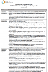 Summary of commitments in the 2018 Political Declaration on NCDs