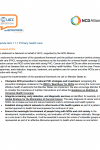(Reconvened) 73rd WHO World Health Assembly Statement on Agenda item 11.1 Primary health care