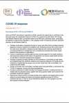74th World Health Assembly Joint Statement on Agenda Item 17.1 COVID-19 Response