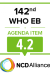 142nd WHO EB Statement on Item 4.2 Physical Activity for Health
