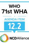 71st WHO WHA Statement on Item 12.2 Physical activity for health