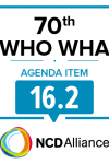 70th WHO WHA: Agenda Item 16.2: Role of the health sector in the sound management of chemicals - Statement