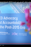 Global NCD Alliance Forum 2015 - Day 1 video